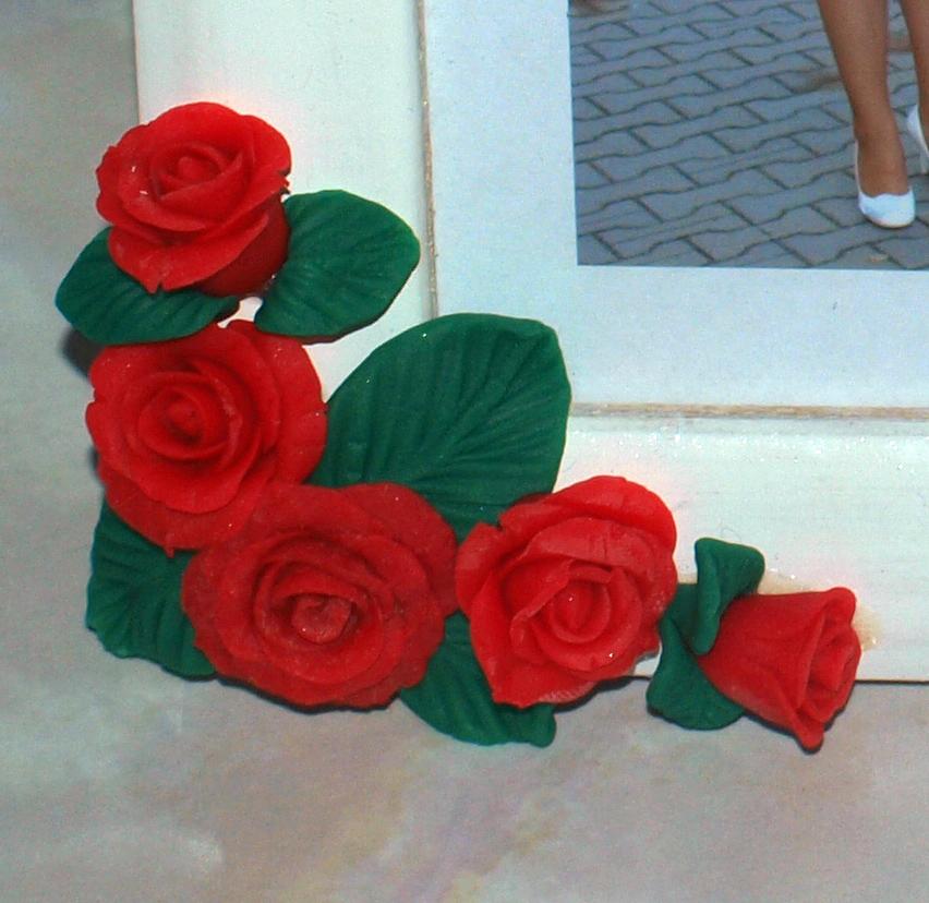 рамка с розами
