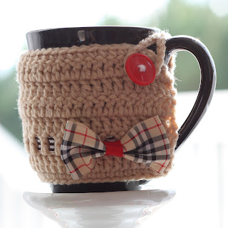 Come in From the Cold Coaster & Cup Warmer Pattern - Free Knitting
