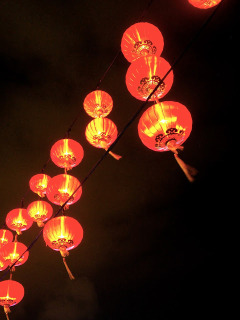 Red Chinese lanterns | Hong Kong Urban Mid-Autumn Festival in Victoria Park