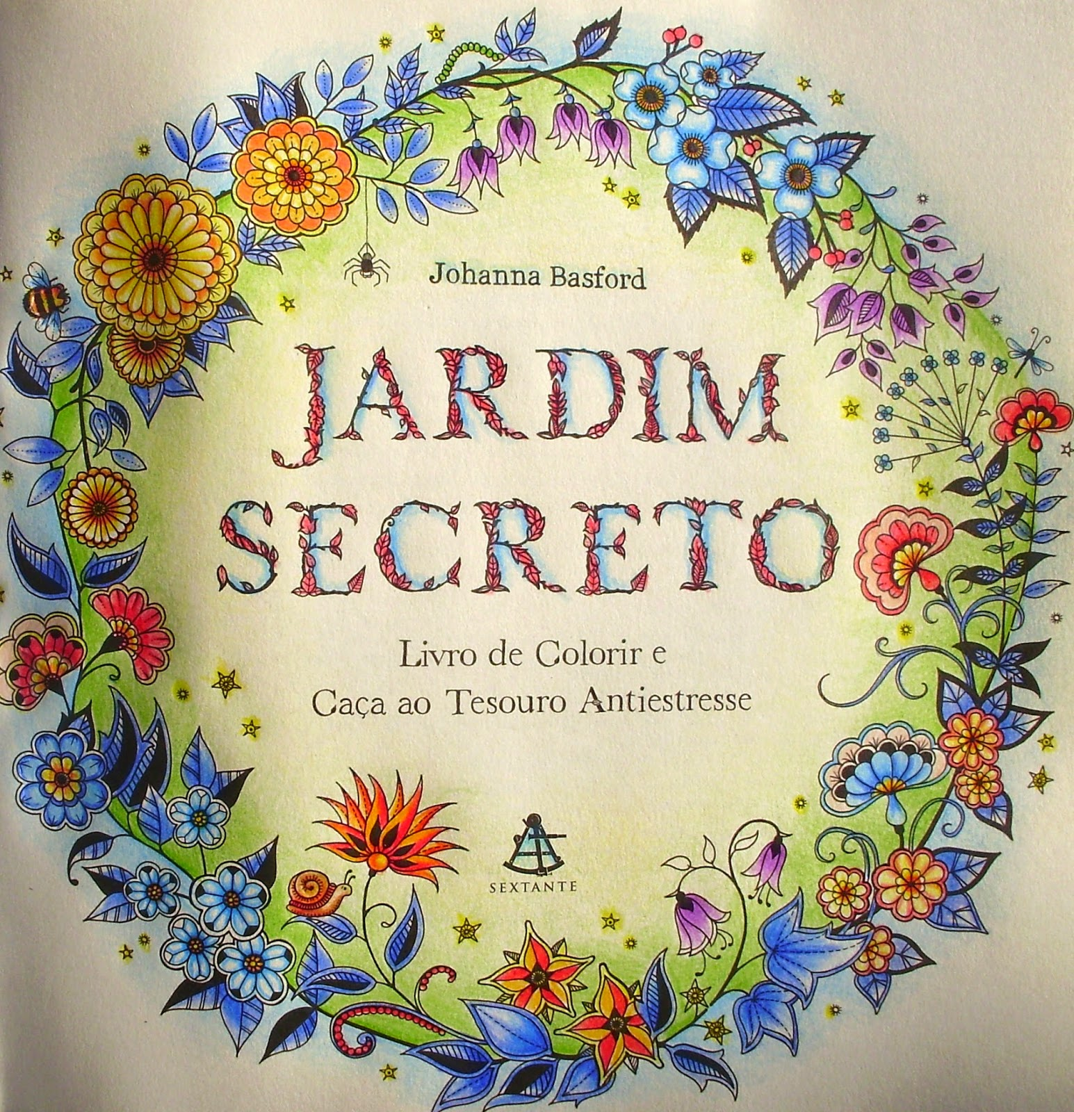 BLOG DA BETH Usando chalk no Livro Jardim Secreto