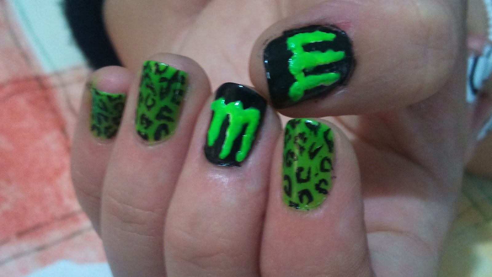 Gepe-nails: MONSTER!