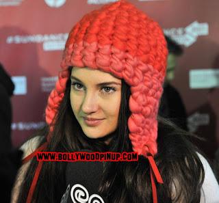 Shailene Woodley Looking Cute in Red Cap