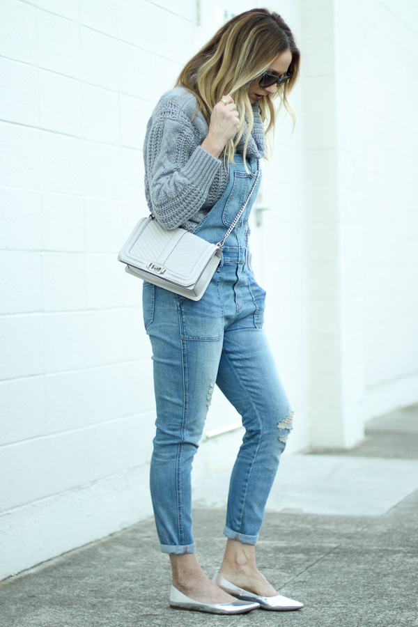 silver flats overall style