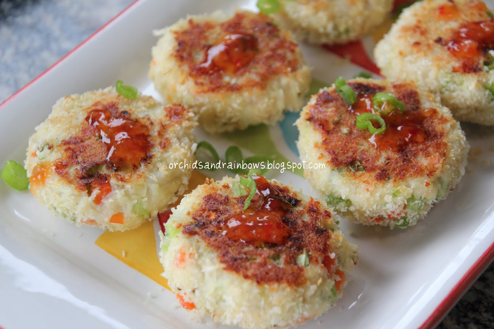 Baked Crab Cakes With Panko Bread Crumbs