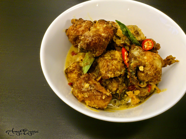 fried chicken salted egg