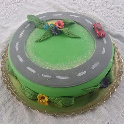 Торт дорога