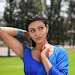 Neelam Upadhyay pics in Blue saree-mini-thumb-4