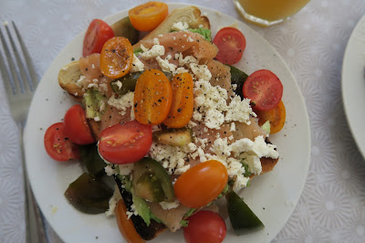 Tomatoes & Feta on Toast