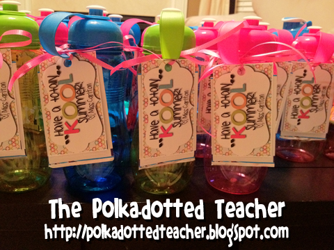 The Polka-dotted Teacher: Goodbye Class of 2011-2012