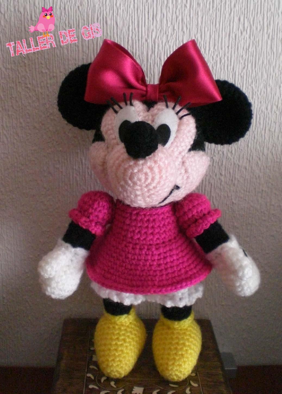 Minnie Mouse Amigurumi Paso A Paso : Taller de Gis: LA PRECIOSA MINNIE