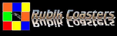 Rubik coasters