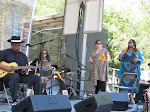KM Williams, Washboard Jackson, Blue Lisa & Andrea Dawson at 2012 Chicago Bluesfest