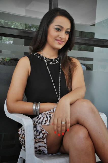 Actress Ester Noronha  Pictures at Jalsarayudu Movie Launch Event 031.jpg