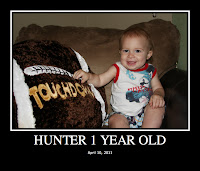 Hunter One Year Old