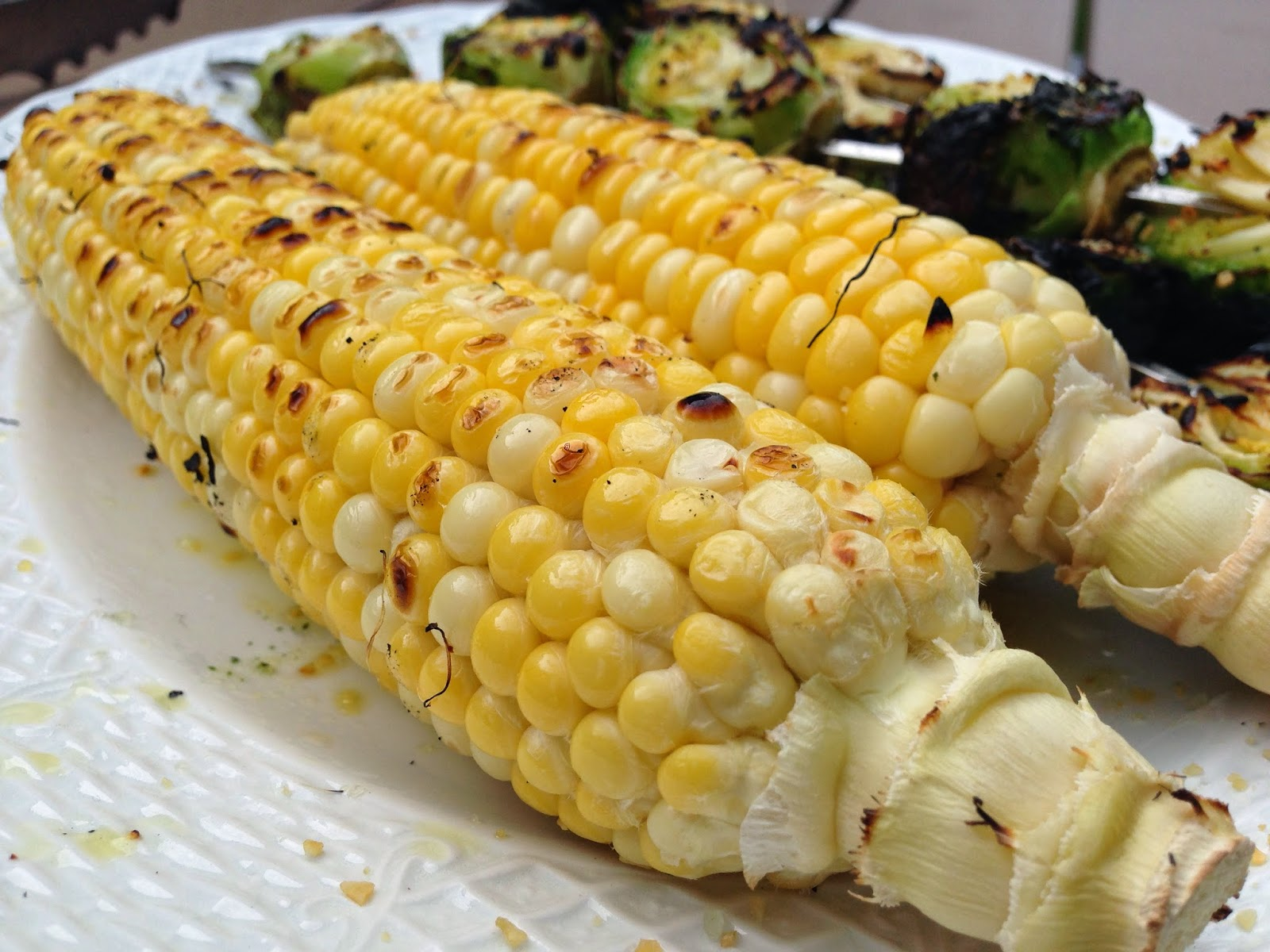 Easy Charred Corn on the Cob