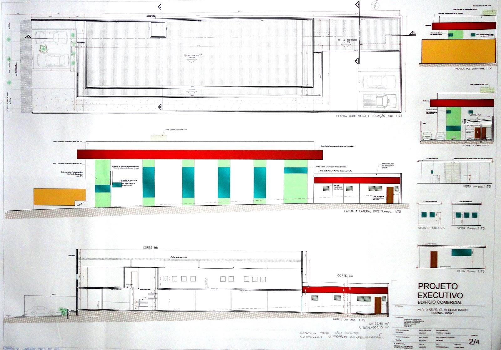 Urbanismo: Projeto Executivo de uma Arquitetura Comercial #CA0201 1600 1118