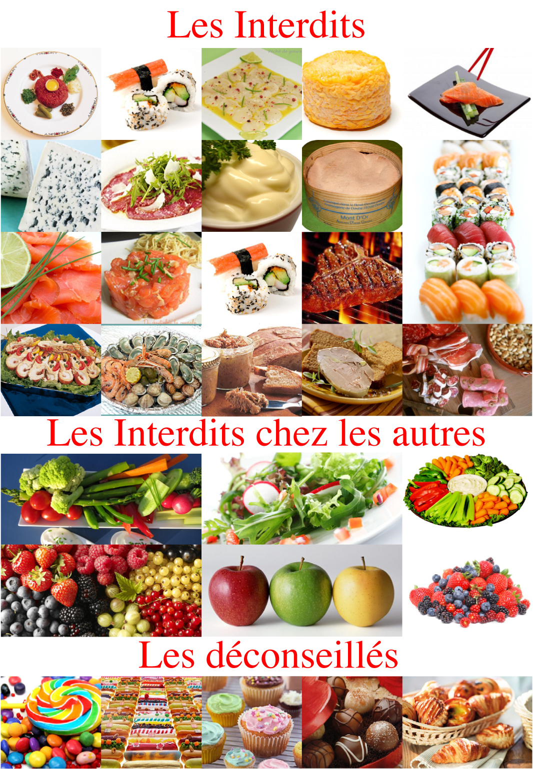 repas equilibre femme