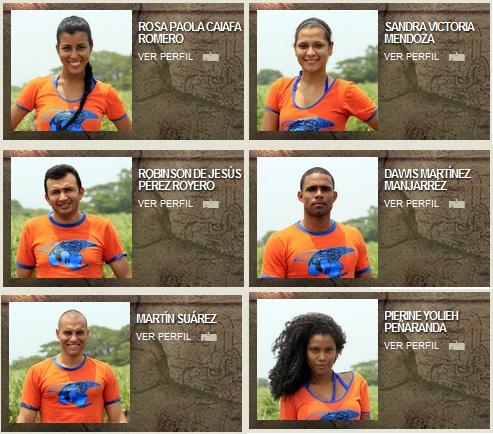 costeños del Desafío 2012 concursantes del Desafío 2012 el fin del ...