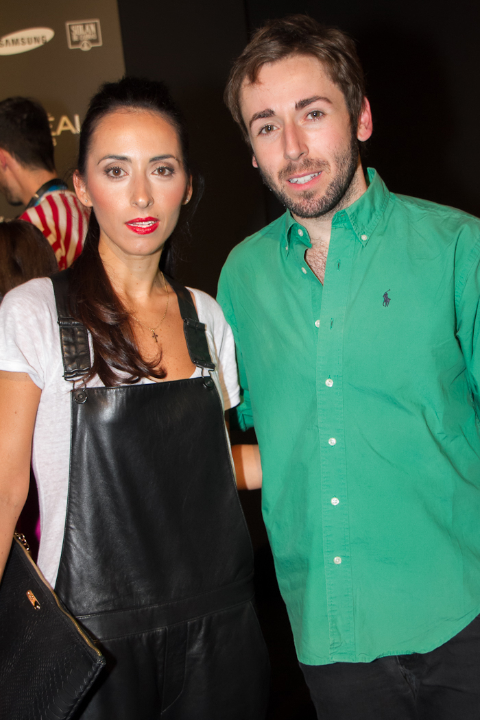 MBFWM Blogger Withorwithoutshoes con Diseñador Daniel RABANEDA