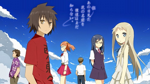 anime yang mirip ano hi mita hana
