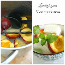 Vaniljpersikor - Enkelt recept