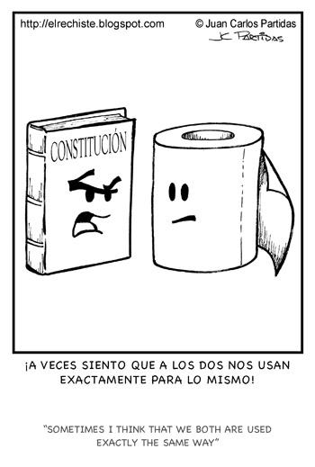 caricatura constitucion