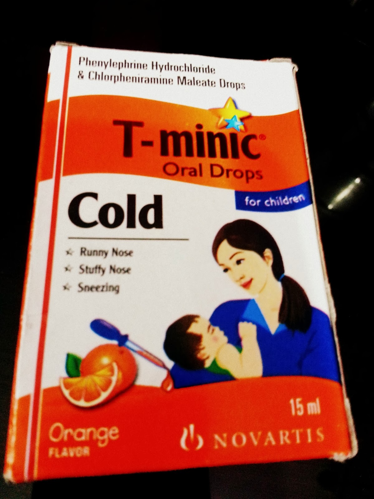 t minic oral syrup