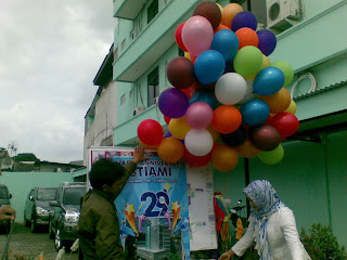 Balon Gas Peresmian