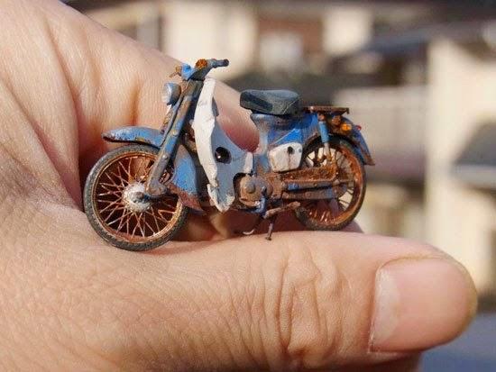 Xe Honda Cub Đồ Chơi tự làm
