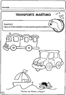 Atividades sobre Trânsito