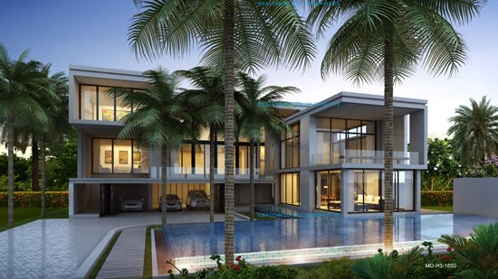 Tropical house plans thailand