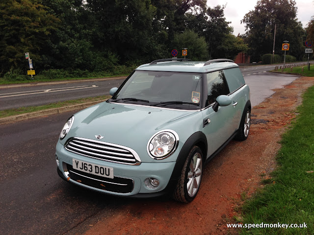 2013 Mini Cooper D Clubvan