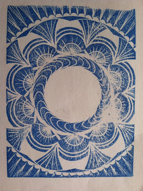 Killscrow, Lana Fee Rasmussen, block print proof