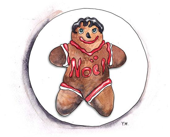 Gingerbread Cookie by Yukié Matsushita