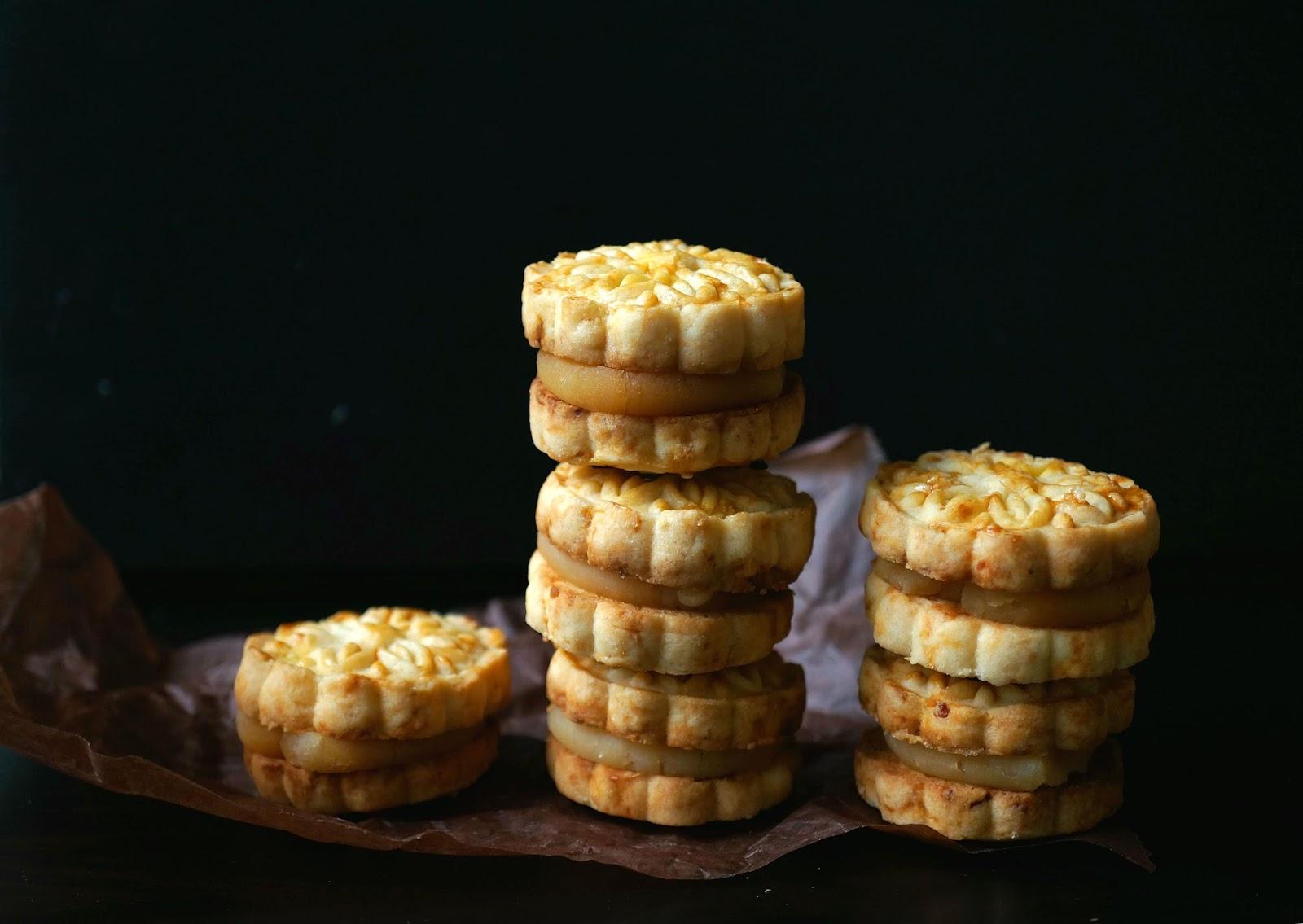 Miss hangrypants lotus seed and salted egg yolk cookie sandwich izmirmasajfo