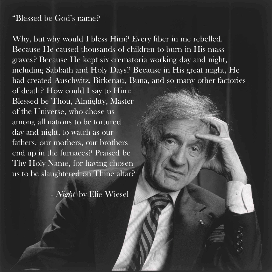 Night by Elie Wiesel Timeline