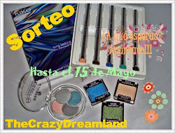 "Sorteo en el blog ""The Crazy Dreamland"""