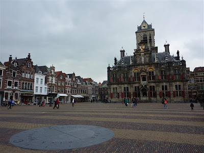 Plaza Grote Markt de Delft (Holanda)