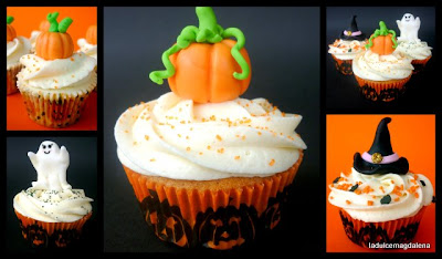 decoracion cupcakes halloween