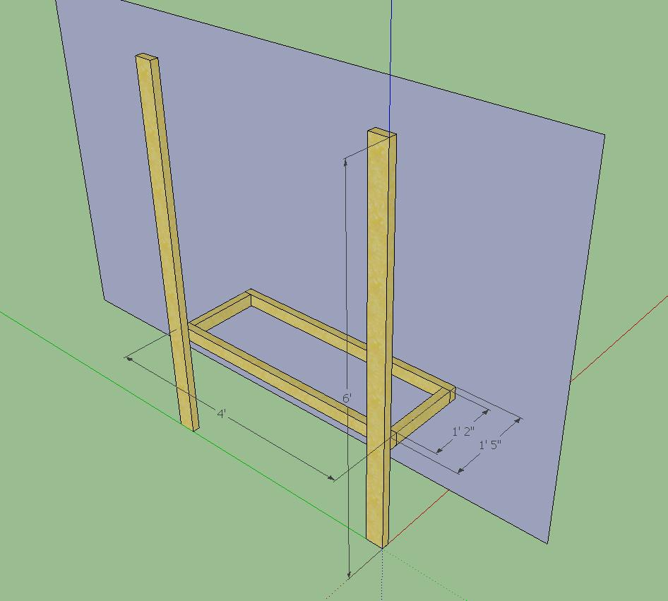 Diy Garage Shelves 2x4 Diy garage shelves. two 2x4