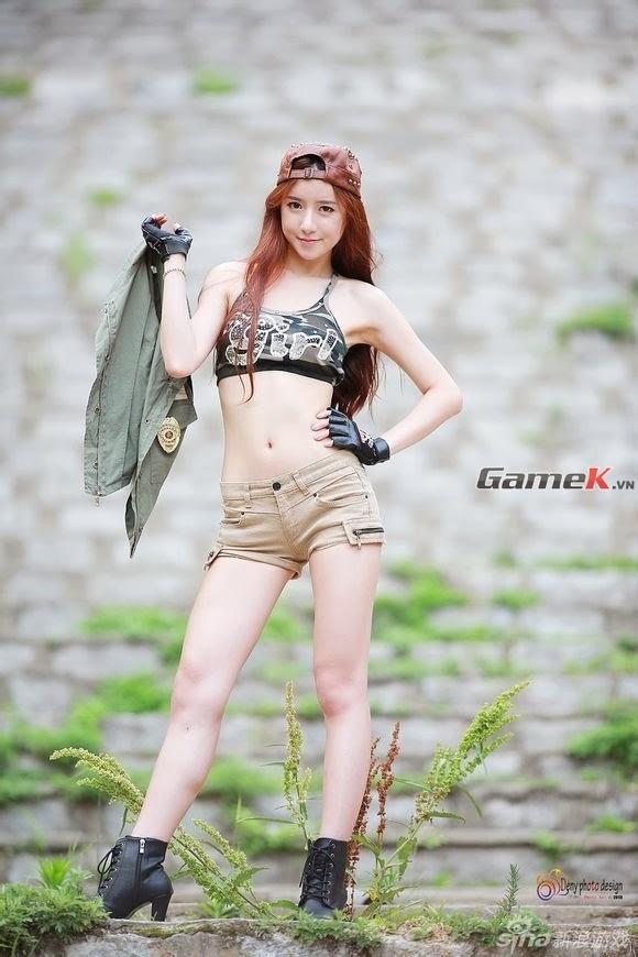 Người mẫu Hàn với phong cách táo bạo
