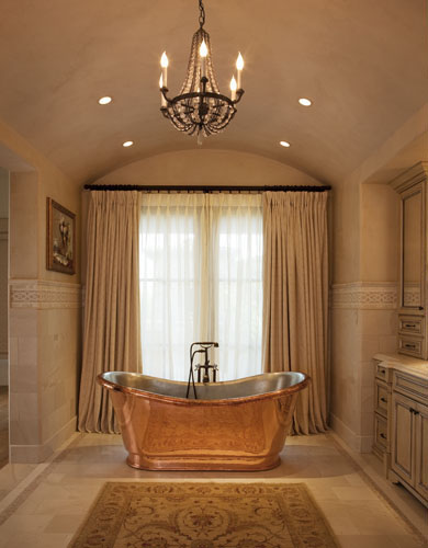 A Beautiful Room By Janet Simon Featuring Chandelier And Matching Crystal Sconces