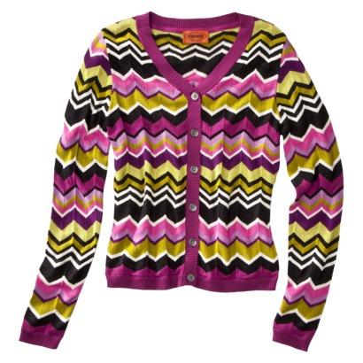 e71a22fcff exaggerate Missoni print on Target sweater