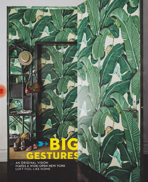 the glam pad marvelous martinique banana leaf wallpaper