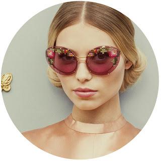 вышитые очки Ульяны Сергеенко