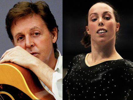 Paul McCartney e Beth Tweddle