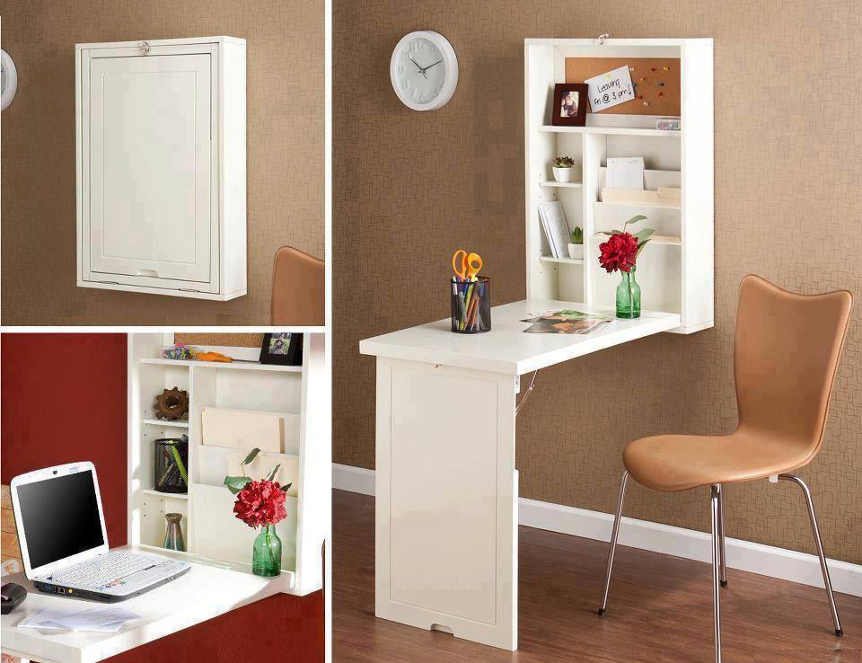 El detalle que hace la diferencia espacios peque for Mesas ordenador para espacios pequenos