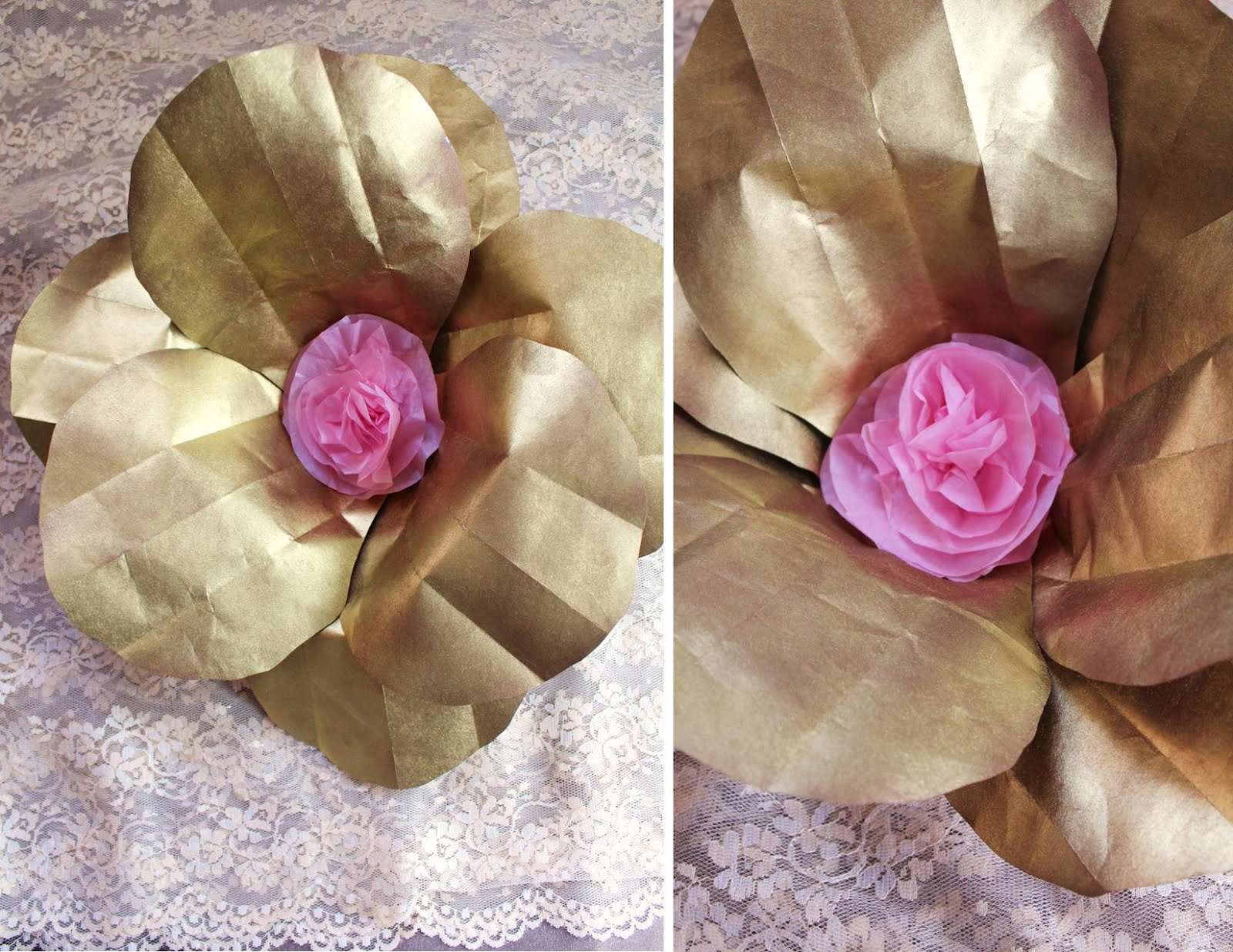 Icing Designs Diy Oversized Paper Flowers