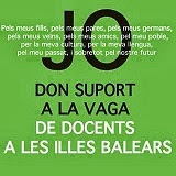 Aquest bloc dona suport a la vaga indefinida dels docents balears
