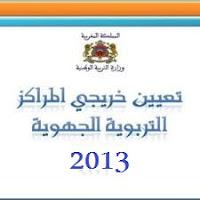 النتائج النهائية لتعيينات خريجي المراكز الجهوية حسب المؤسسات